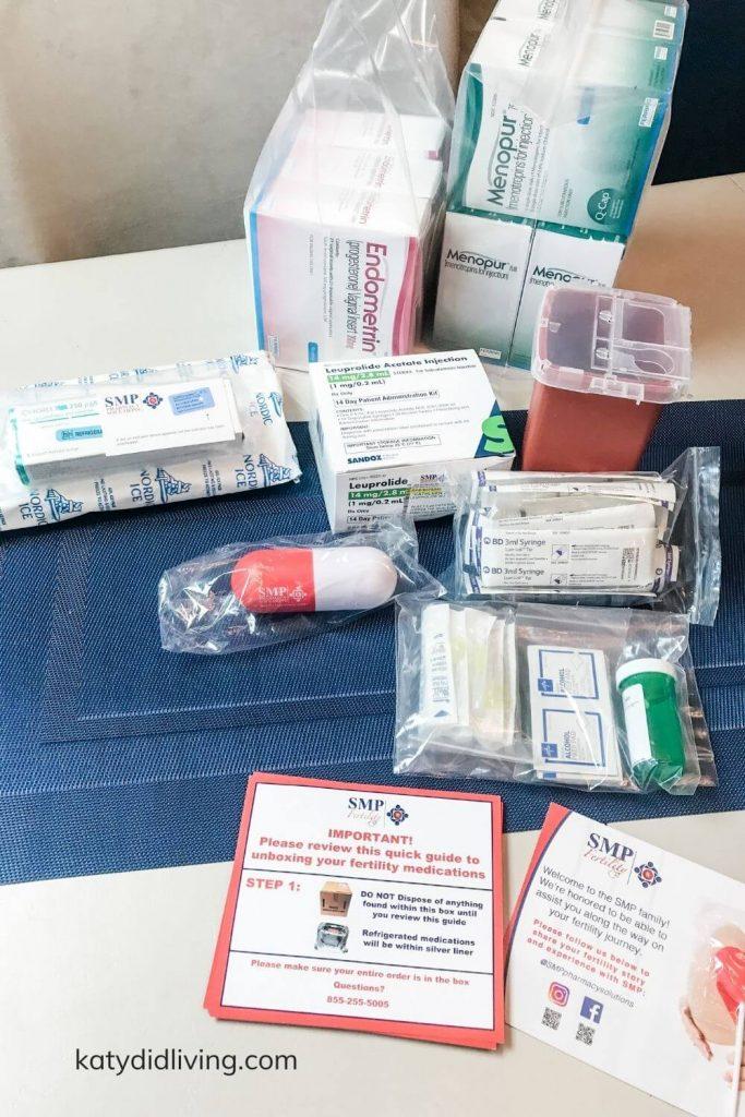 IVF shot medications